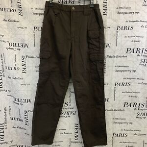5.11 Tactical Womens Pants Solid Brown Fire EMS Paramedic Hunting Size 6