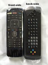New VIZIO Replacement Keyboard XRT301 3D Internet Apps HDTV Remote Control Vudu