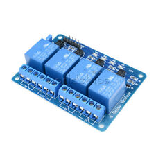 4 Four Channel Relay Module DC 5V + Optocoupler For Arduino PIC ARM AVR DSP W