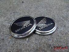 HONDA GORILLA MONKEY Z50 Z50 Z50J Z50R FUEL TANK EMBLEM LH/RH  1PAIR    Black