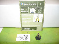 Axis & Allies 1939-1945 Eagle-Eyed NCO with card 9/60
