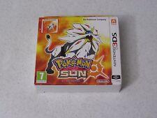 Pokémon Sun SteelBook Fan Edition Nintendo 3DS UK Import FREE SHIPPING