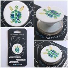 PopSockets Single Phone Grip PopSocket Universal Phone Holder 101380 TURTLE LOVE