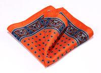 Classic 100%Natural Silk Satin Men Pocket Square Hanky Wedding Handkerchief#B12