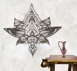 Lotus wooden wall art, wooden wall hanging, Living room decor