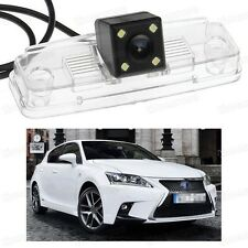 4 LED Car Rear View Camera Reverse Backup CCD Fit for Lexus CT 200h 2014-2016