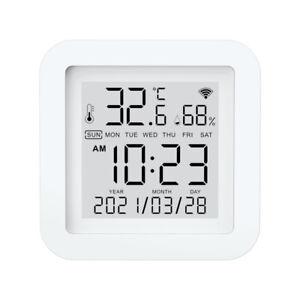 Smart Home Wireless Tuya WIFI Temperature Humidity Sensor Thermometer Monitor~
