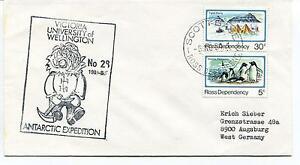1984 Victoria University of Wellington Antarctic Expedition Polar Cover