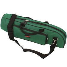 New High Quality Trumpet Gig Bag Case Nylon Padded Atrovirens Green