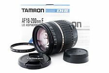 Tamron AF 18-200mm f3.5-6.3 LD Di II XR IF Lens for Nikon *EXC*