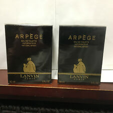( 2 )  Bottles Lanvin Arpege Eau De Toilette 1oz ea Made in France