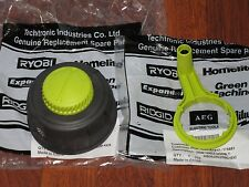 All New Ryobi String Trimmer Bump Head for Curved Shaft Trimmers + Speed Crank