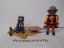 PLAYMOBIL KNIGHTS. TIENDA PLAYMOXOY76. FIGURAS DE CARCELERO Y PRESO MEDIEVALES.