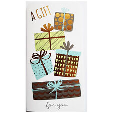 A Gift For You - Money Voucher Wallet Holder with Envelope - Birthday Design