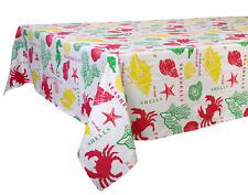 58 x 84 in. Cotton Tablecloth Under the Sea