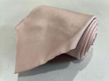 DKNY Men's Pink Solid Silk Neck Tie $78