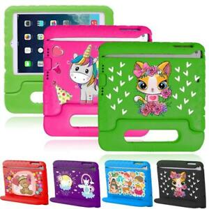 Kids EVA Foam ShockProof Cover Stand Case For Apple iPad 2/3/4/Mini /Air/Pro 9.7