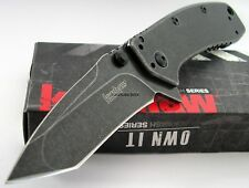 Kershaw LARGE Cryo II Tanto Blackwash Speed Assisted Opening Knife 1556TBW