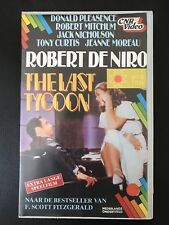 The Last Tycoon Ex-Rental Vintage Big Box VHS Tape English dutch subs