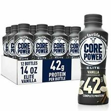 Fairlife Core Power Elite High Protein Shake 42g Vanilla Ready To Drink for W.