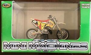 Toy Zone Small Scale Honda Cr 250 Freestyle Dirt Bike Motocross AHRMA