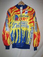Vintage Torenhof European Cycling Jacket Men's 54 Belgium Yellow Bike