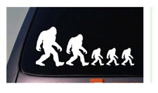 Bigfoot Family Sticker Stick Figure Decal Sasquatch yeti Car Truck Wind yeti ape
