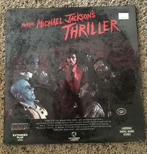 New / Sealed! 1983 Making Michael Jackson's Thriller Laserdisc Vestron Video