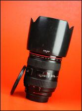 Canon EF 24-70mm F2.8 Lente Zoom Af Pro USM L + Lente Frontal y Trasera Tapas + Capucha