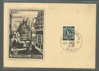 6774 - 1947 16 Pfg. Dt. Post Weilenbrink in Bochum