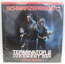 TERMINATOR 2 JUDGEMENT DAY Special Edition WIDE SCREEN ED Laser Disc Movie - K20