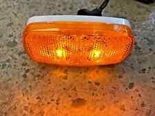 4 X 2 Bargman Led Side Marker Clearance Light Amber Rv Camper Trailer Motor Home