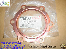 Yamaha IT175 DT175 MX175 Cylinder Head Gasket NOS HEAD GASKET CYL 1W2-11181-00