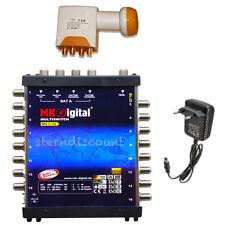 Digital multi-interruptor 5/16 + Quattro LNB 0,1db satélite Switch HDTV UHD 16