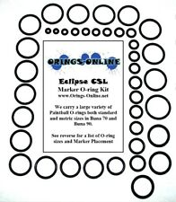 Planet Eclipse CSL Paintball Marker O-ring Oring Kit x 4 rebuilds - Aftermarket