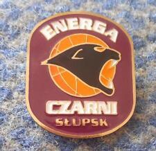 ENERGIA CZARNI SLUPSK BASKETBALL POLAND CLUB PIN BADGE