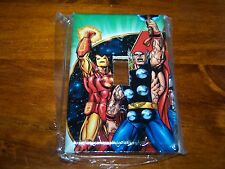 IRON MAN AND MIGHTY THOR LIGHT SWITCH PLATE