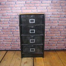 Industrial Vintage Strafor Filing Cabinet Clapet IFCS001