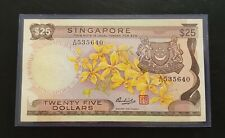 Singapore $25 Orchid Banknote A/40 535640