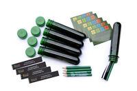 5 x Petling + Stift + Aufkleber  wasserfeste Logbücher Geocaching Versteck Cache