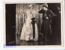Dolores Costelo Bebe Daniels as man VINTAGE Photo Splendid Crime candid on set