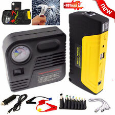 12V 68800mAh Portable Battery Jump Starter Air Compressor Car Booster Jumper MG