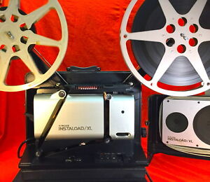 SINGER INSTALOAD XL MODEL 2220 16mm SOUND PROJECTOR IN EXCELLENT CONDITION