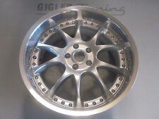 1Stk. Artec RH MK Felge 3Tlg.  9,5x19  5x112  Et37 Silber Poliert  NEU!! R1429