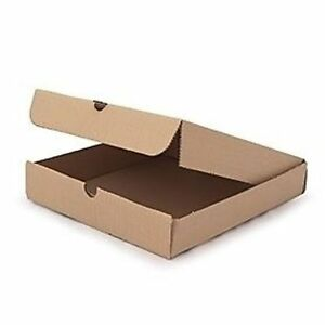 """12"""" Pizza Boxes (Brown Kraft) (100) on the go, single use"""