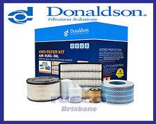 Donaldson 4WD Filter Kit Toyota Landcruiser HZJ75/ HDJ79 1HZ 4.2L X902718