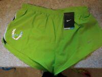 "RARE Men's Nike Oregon Project 4"" Size XL Running Athletic Shorts NWT!!!"