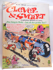 Comic - Clever & Smart in geheimer Mission - Band Nr.101 (Conpart Verlag)