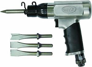 Astro 4335 ONYX General Duty Air Hammer with 4-Piece Chisels (Taiwan)