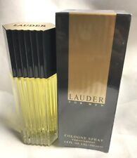 Lauder For Men by Estee lauder Cologne Spray 3.4 oz, Rare.